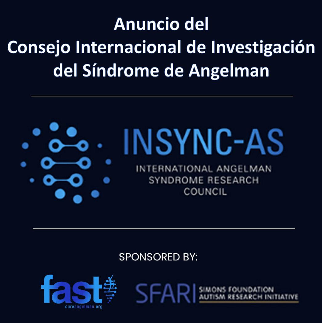 FAST y SFARI ponen en marcha el Consejo Internacional de Investigación de Síndrome de Angelman (INSYNC-AS)